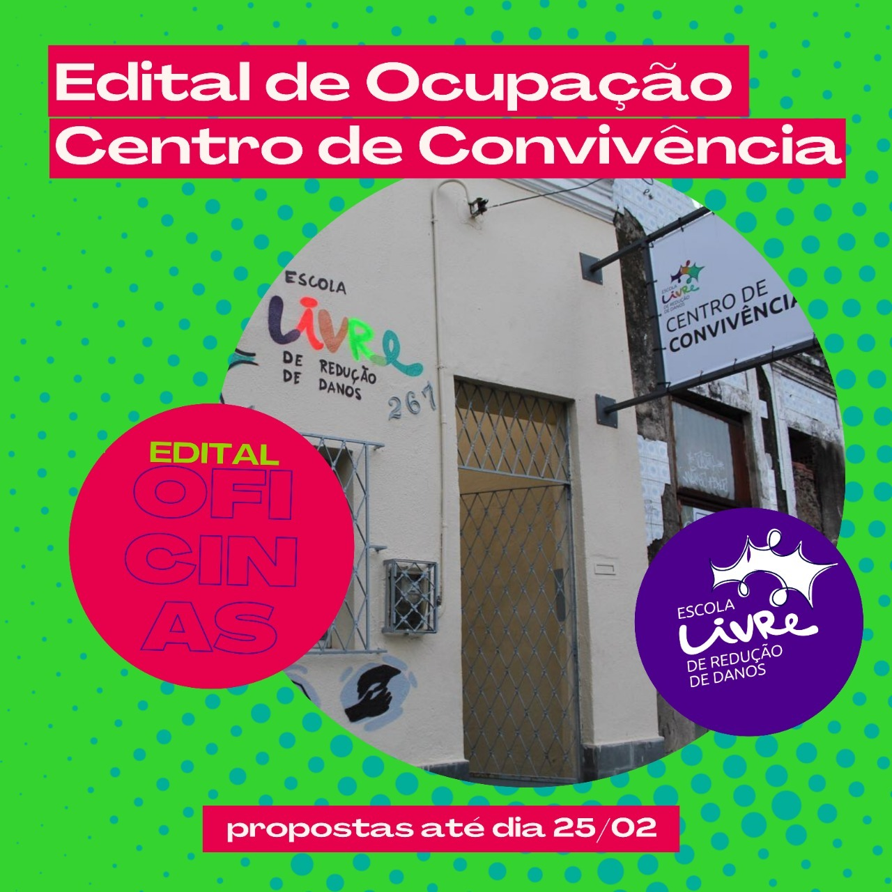 Edital de Ocupação Centro de Convivência