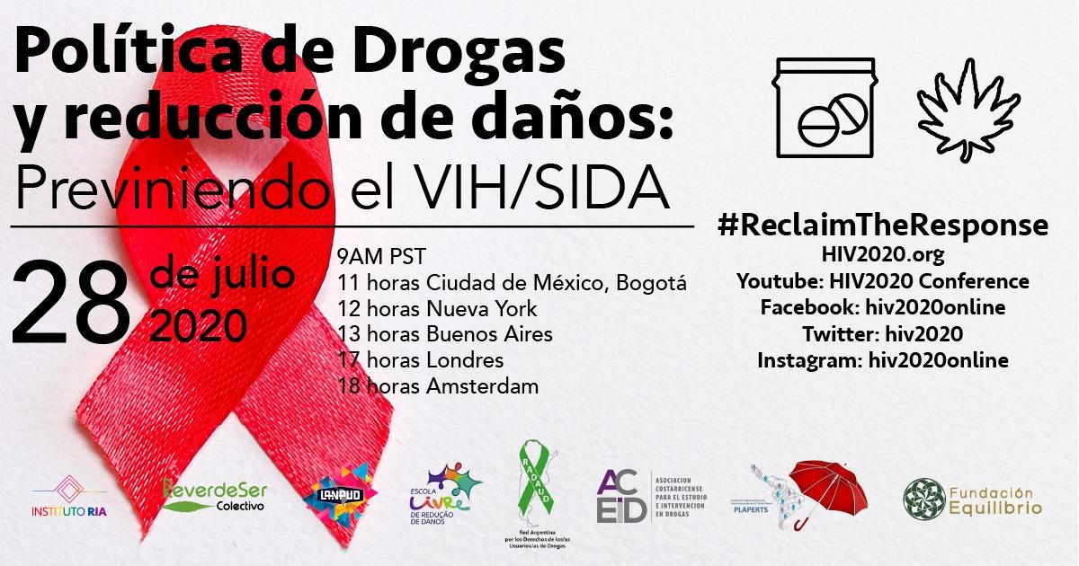 Escola Livre de Redução de Danos participa do Congresso Internacional HIV2020