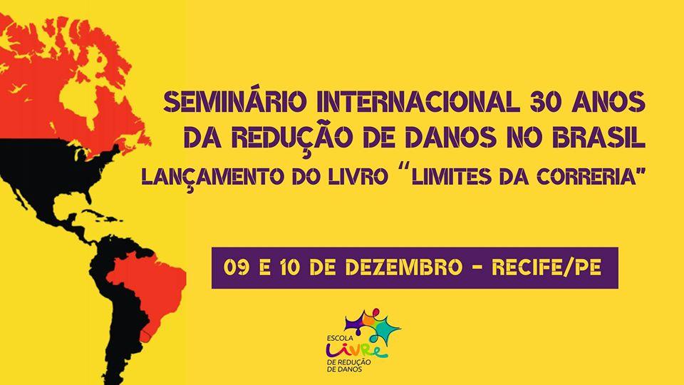 Seminário Internacional 30 Anos da Redução de Danos no Brasil